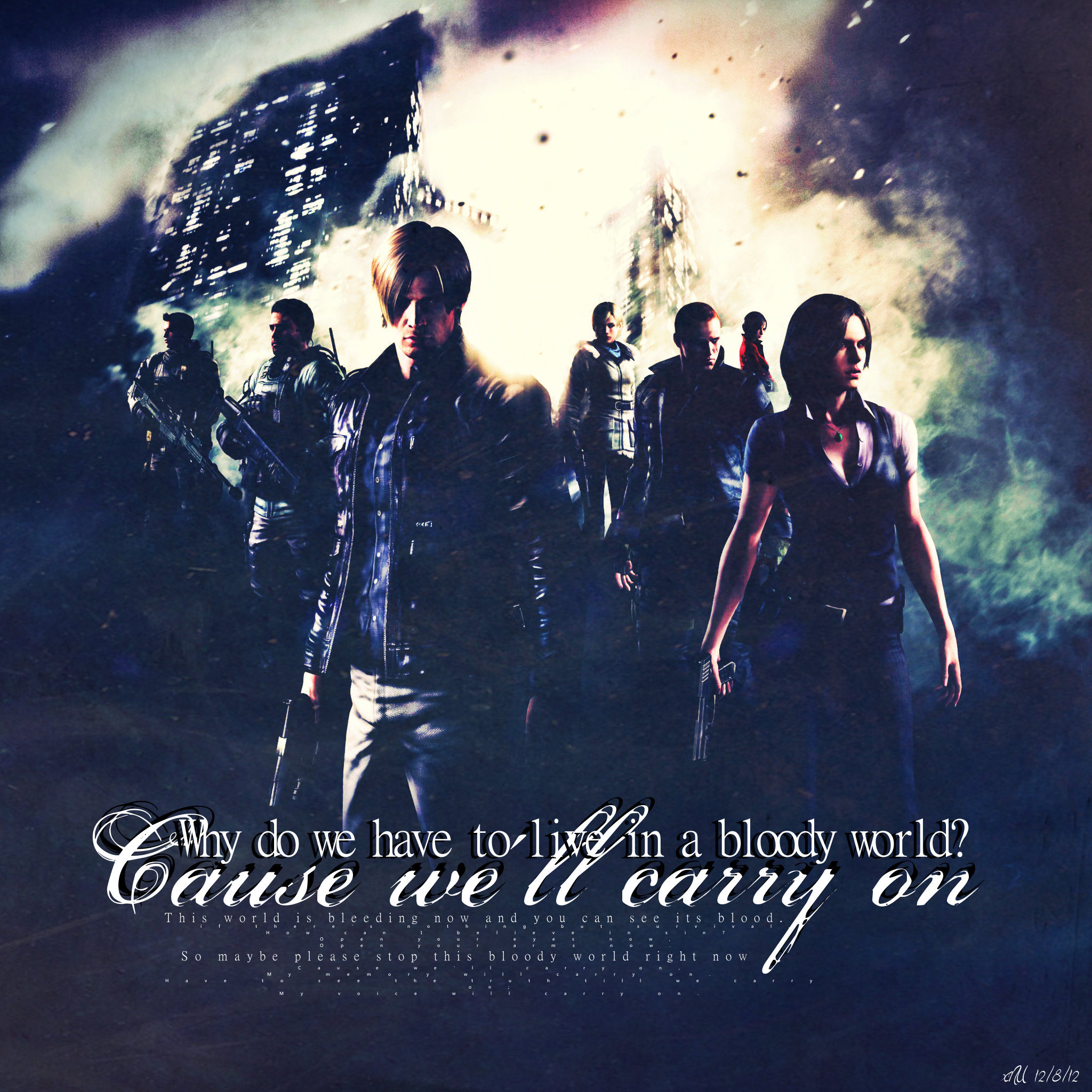 We will carry on