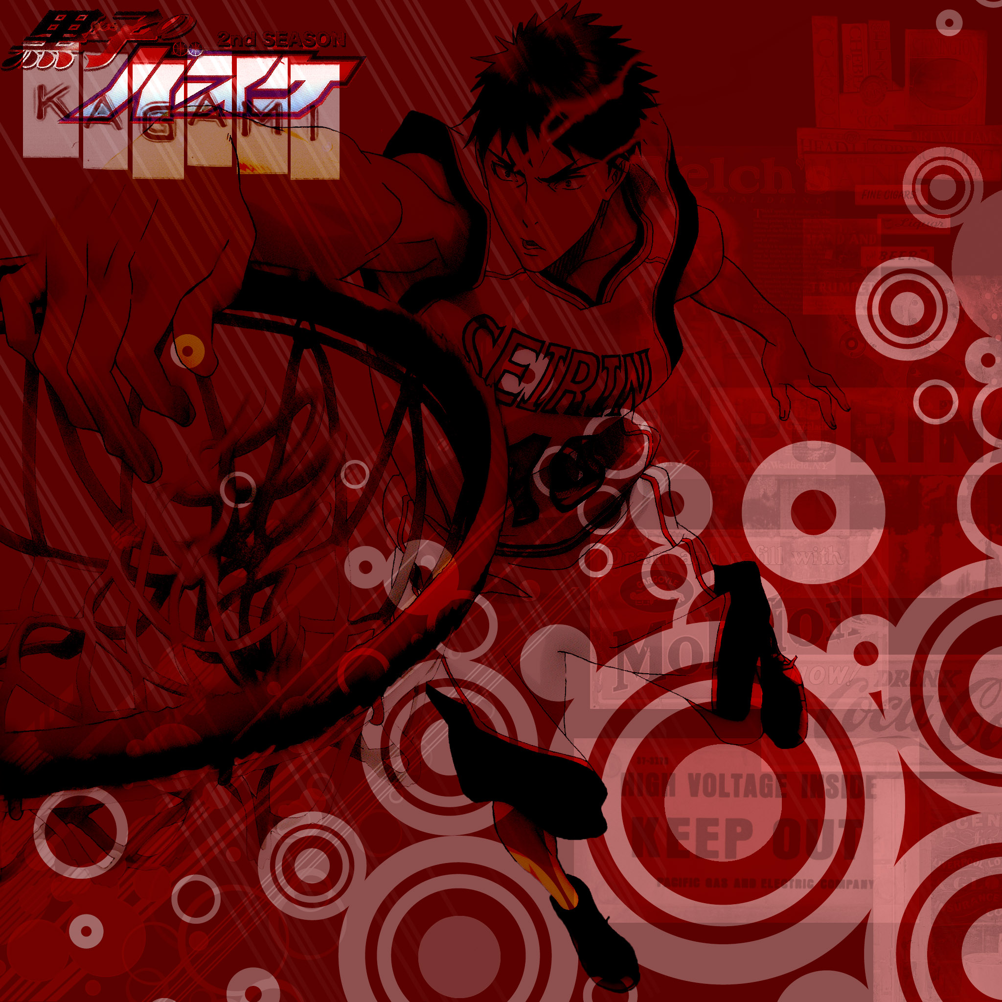 Kagami in the ZONE!