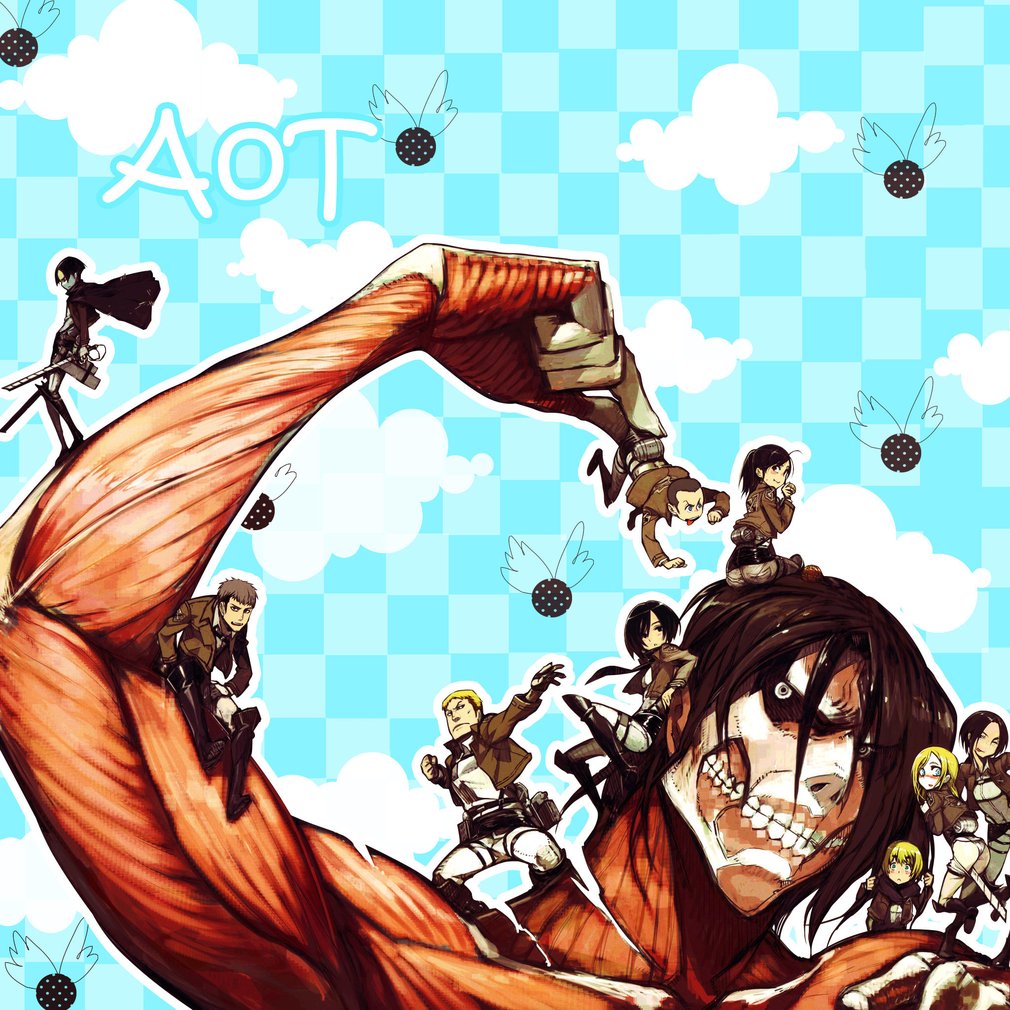 AoT Cute Wallpaper!