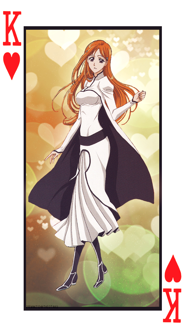 Orihime- Heart Cards Set 1