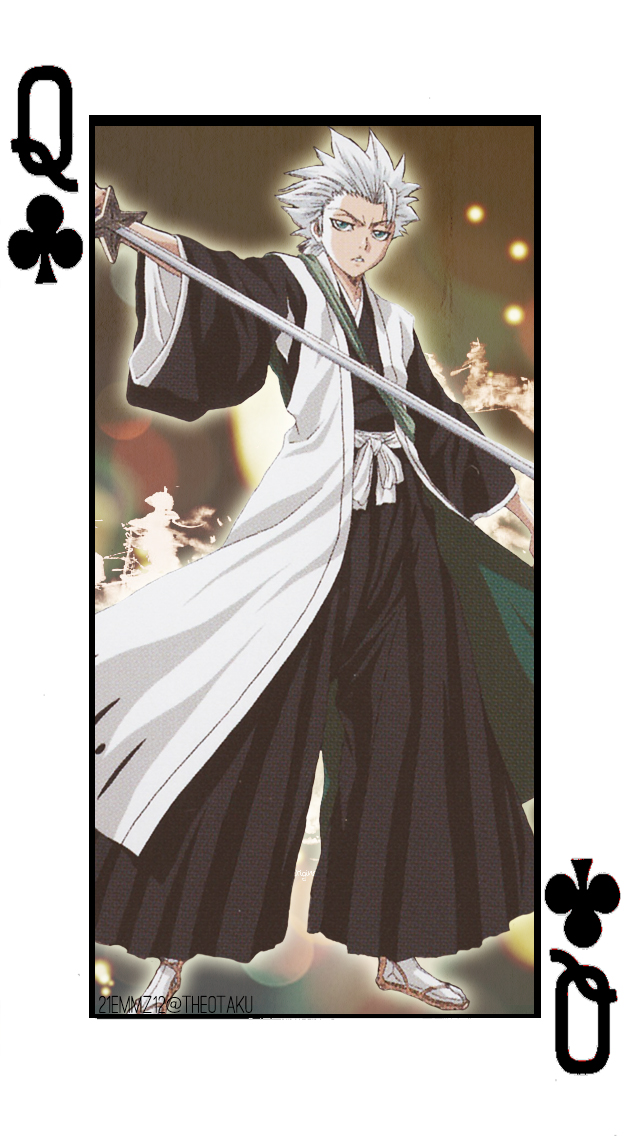 Toshiro- Clubs Cards Set 2