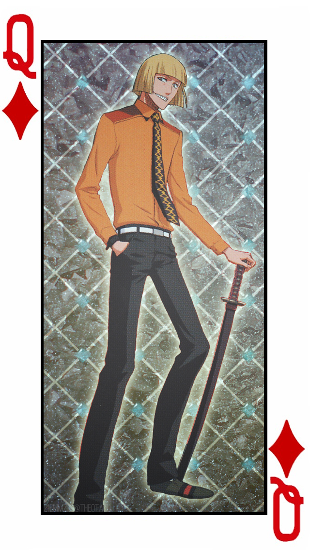 Shinji- Diamond Cards Set 3