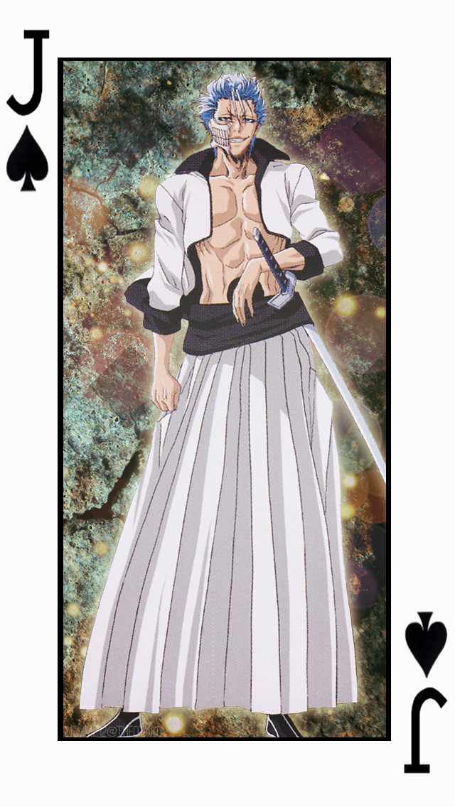 Grimmjow- Spades Cards Set 4 [