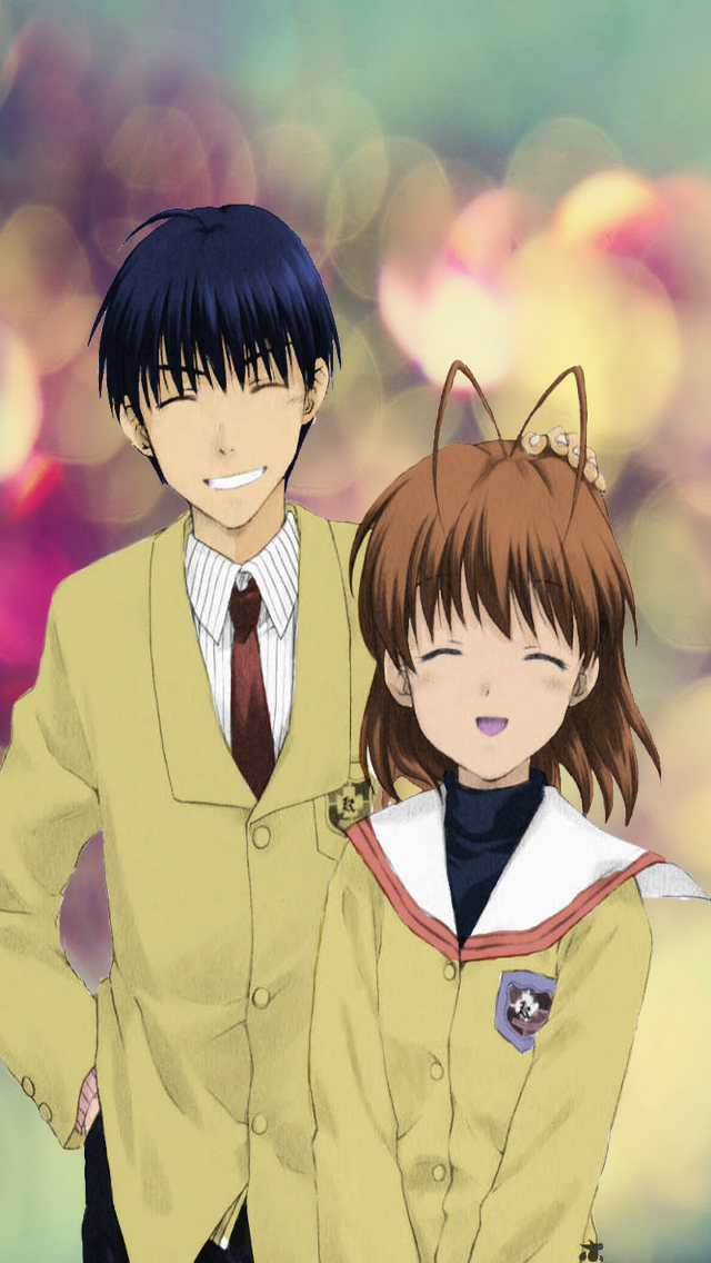 Clannad (colored) scan