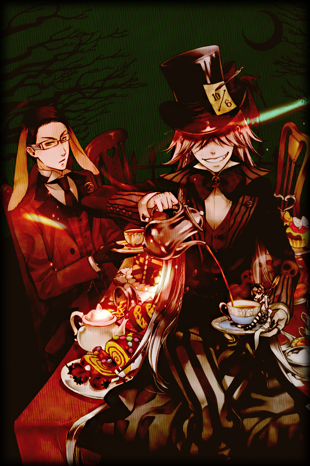 A Halloween tea party