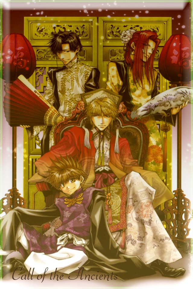 saiyuki ancient look