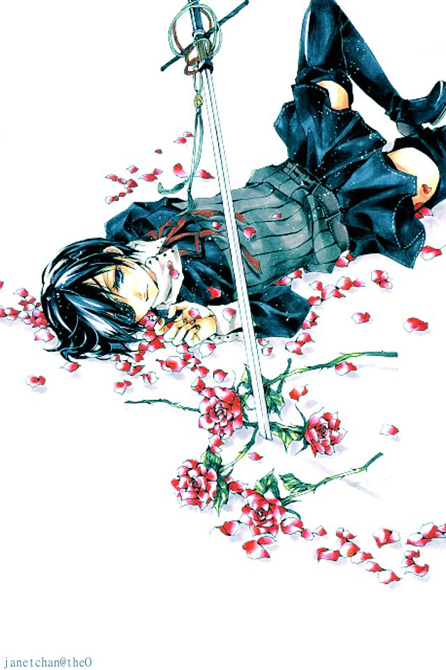 [swords and roses.]