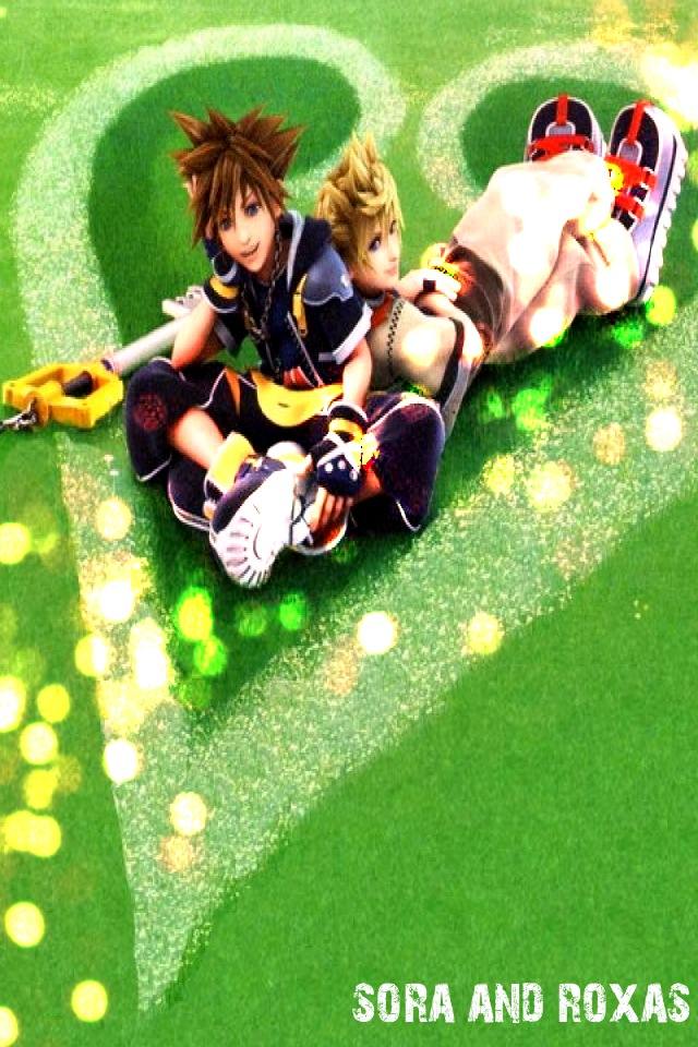 Sora and Roxas