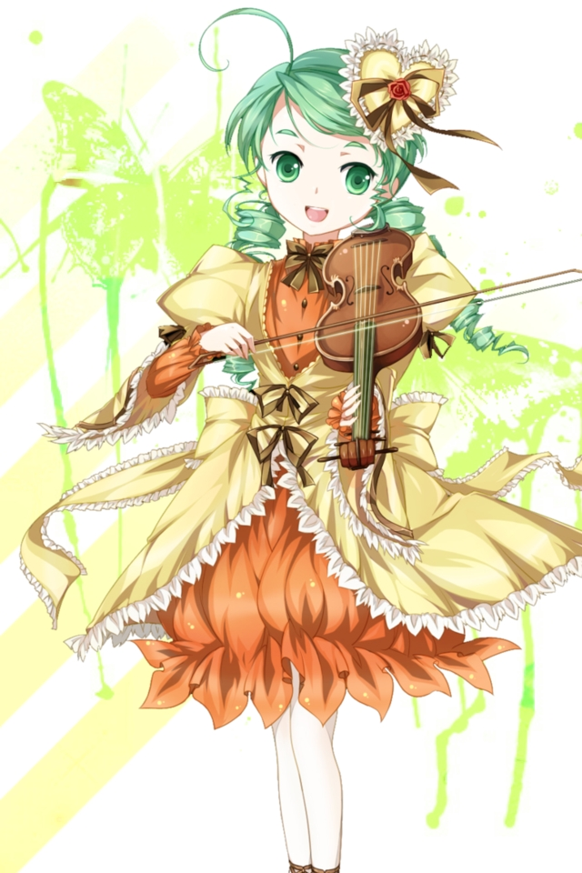 Violin Green