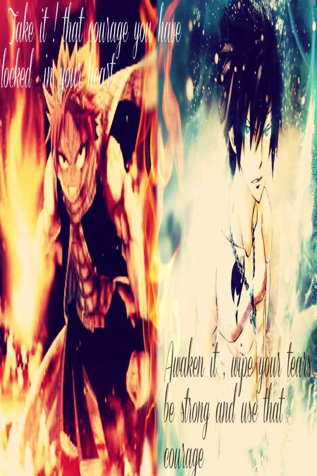 Ice and Fire | Gray and Natsu